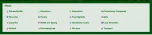 Northamtpn directory categories